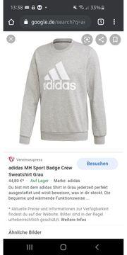 adidas MH Sport Badge Crew