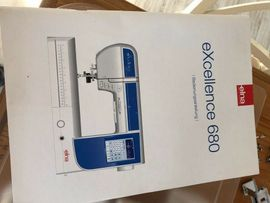 Handarbeit, Basteln - Elna Nähmaschine Modell Excellence 680