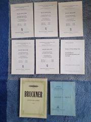 Chornoten und Noten für Solo-Gesang
