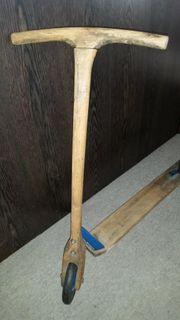 Holzroller antik 50er Jahre ganz