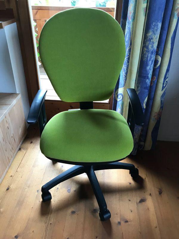 Schreibtischstuhl Bürostuhl grün