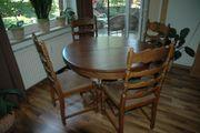 Tisch rund antik ausziehbar 4