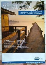 Marktbericht Immobilien im 5-Seen-Land und