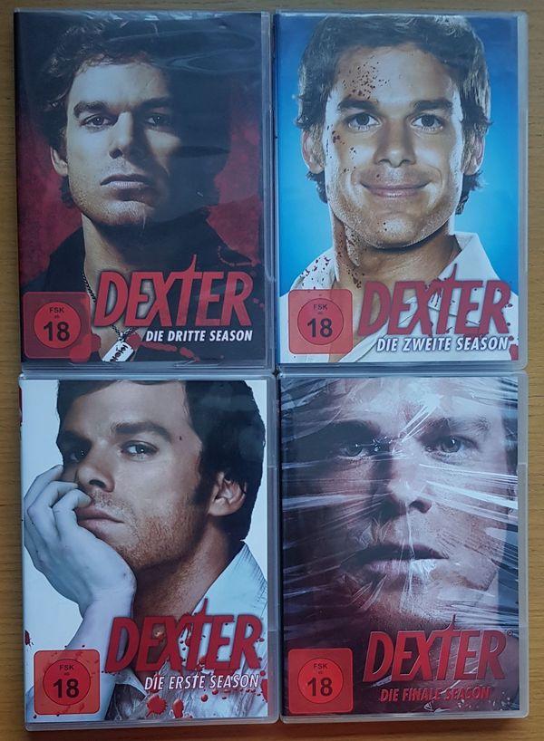 18 DVD s Dexter Die