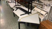 Schreibtisch 2 Teile - LD241114