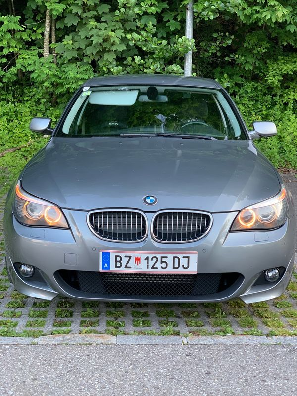 BMW 525d e60 facelift