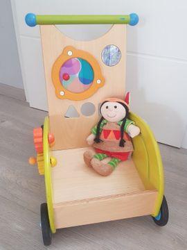 Baby- und Kinderartikel - Haba Lauflernwagen Entdeckerwagen