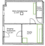 1 5 Zi Wohnung-Souterrain in