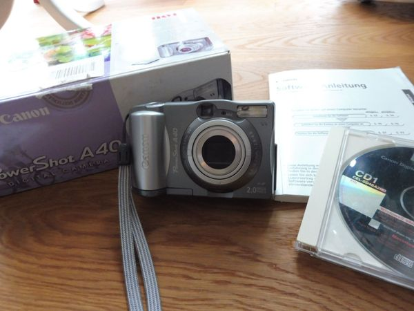 Canon PowerShot A40 Digital Camera