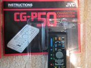 TITEL-CHARAKTER-GENERATOR - Video Schnitt - JVC - CG-P50 -
