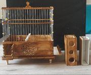 Vogelkäfig Gesangkäfig Stieglitz u Kanarien