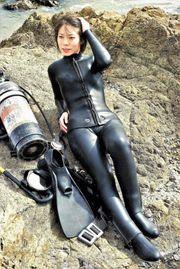 Fotoshooting Tauchausrüstung