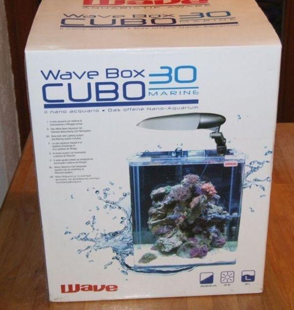 Aquarium Wave Box Cubo 30