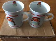 Kaffeetassen mit Weihnachtsmotiv