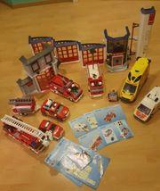 Playmobil Feuerwehrstation 4819 mit vielen