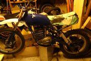 Motocross oder Geländemaschine