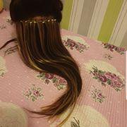 Haarverlängerung mit Micro Ringe