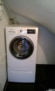 Siemens IQ500 Waschmaschine Trockner zu