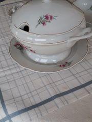 Geschirr Porzellan aus den 70Jahren