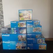 Playmobil Sammlung 9 Kartons plus