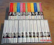 2 Hörbuch-Cassetten-Boxen insges 72 CDs