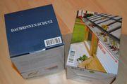 Verkaufe vier Packungen Dachrinnen-Schutz je