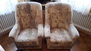 Couchgarnitur 2xSessel und 3-Sitzer