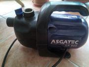 ASGATEC GP800 Pumpe für Gartenwasser