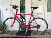 Fuji Fitnessbike umgebautes Rernnrad