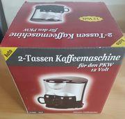2-Tassen Kaffeemaschine für PKW Wohnmobil