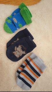 3 Paar warme Socken Gr