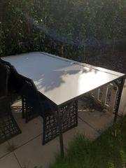 Gartentisch 220 x 100 cm