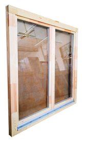 Holzfenster 150x150 cm bxh Europrofil