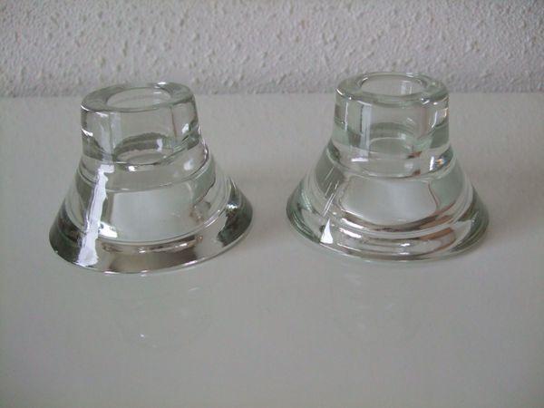 Kerzenständer aus glas von ikea beidseitig verwendbar neu in