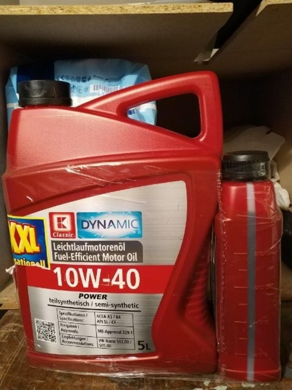 Leichtlaufmotoröl 10 W 40 neu