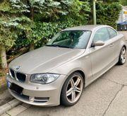 BMW 125 Coupe Vollleder gepflegt