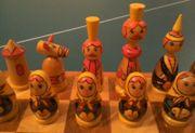 Schachspiel Russland Babuschka