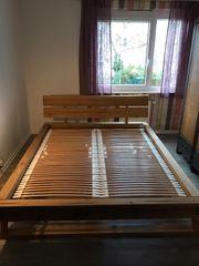 Massivholzbett Bett aus Massivholz