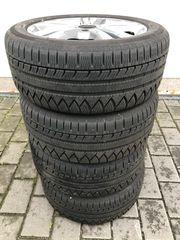 4 x Winterreifen Kompletträder Michelin