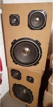 Standboxen Lautsprecher Eigenbau SUBWOOFER KABEL