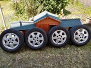 Alufelgen mit Reifen für Opel