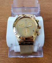 Swatch Unisex Chronograph Quarz Uhr