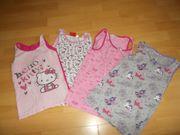 4 Mädchen Unterhemden in 128