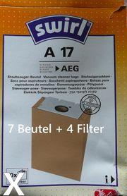 Swirl Staubsaugerbeutel A17 für AEG