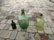Schnaps Wein Dekorflaschen