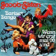 Jacob Sisters handsignierte Single Bariser