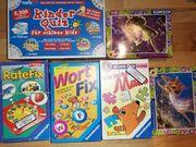 verschiedene Spiele und Puzzle