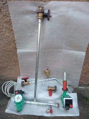 2 Wilo-Pumpen aus Austausch Heizungsanlage
