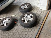 Reifen mit Felgen für Golf