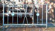 Geländer - verzinktes Eisen